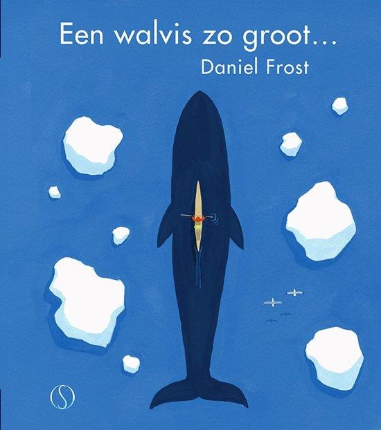 Boek cover van 'Een walvis zo groot…' vertaald door Naomi Tieman