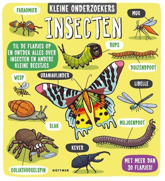 Boek cover van 'Insecten' vertaald door Naomi Tieman