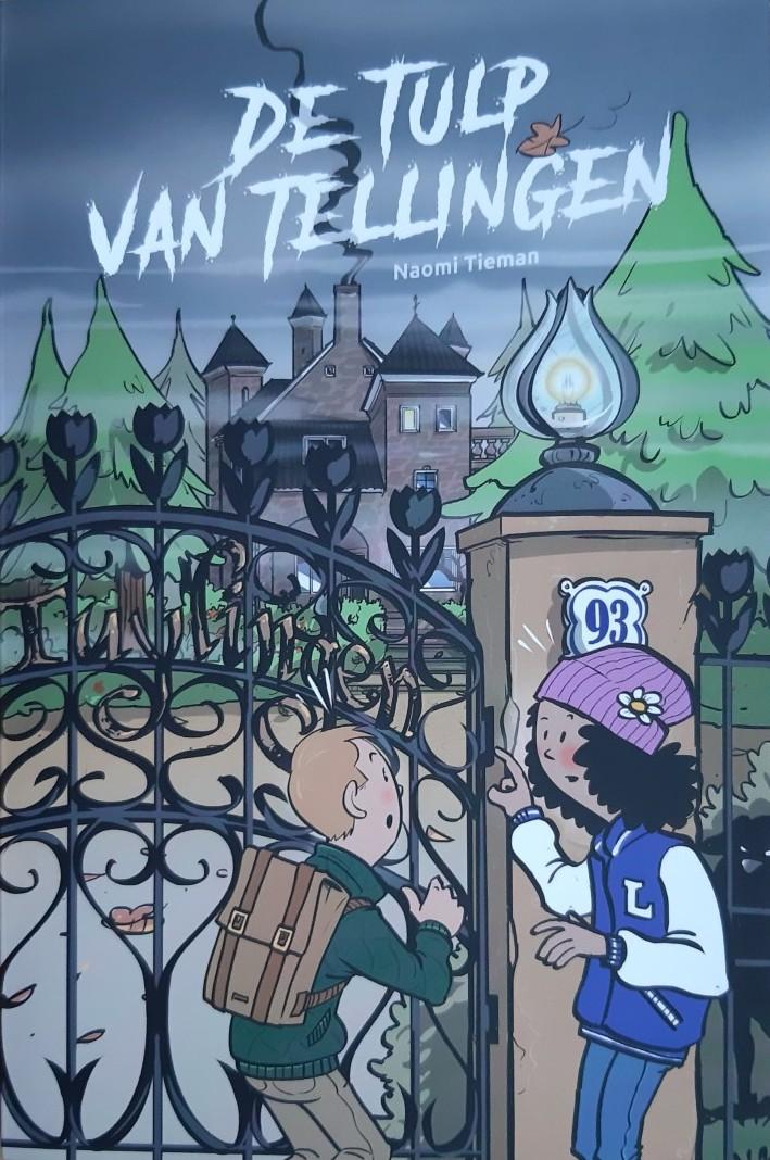 Boek cover van 'De tulp van Tellingen' geschreven door Naomi Tieman