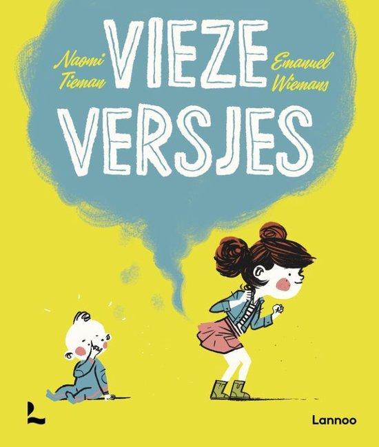 Boek cover van 'Vieze Versjes' geschreven door Naomi Tieman